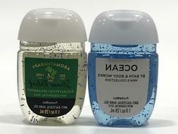 Bath & Body Works 1 OZ Hand Sanitation Cleaning Gel Lot of 2