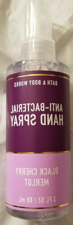 Bath and body works anti bacterial hand sanitizer spray~Blac
