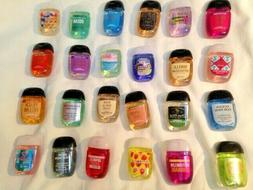 BATH & BODY WORKS HAND SANITIZER  HAND GEL,1oz 20 cents each