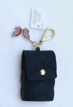 Bath & Body Works Butterfly Black Purse PocketBac Hand Sanit