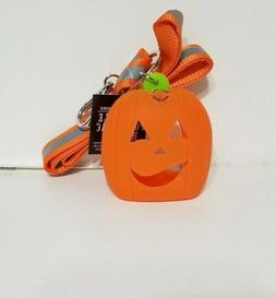 Bath and Body Works Halloween PUMPKIN LANYARD Light Up Pocke