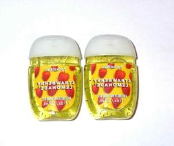 Bath & Body Works Lot of 2 Strawberry Lemonade 1 oz PocketBa
