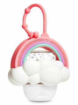 BATH & BODY WORKS PINK RAINBOW CLOUD POCKETBAC HOLDER SLEEVE