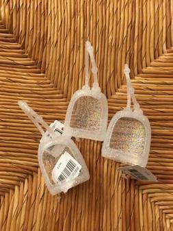 Bath & Body Works Pocketbac Hand Sanitizer Holders  Clear Gl