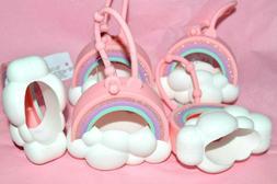 Bath Body Works Bubble Gum Pink RAINBOW CLOUDS Pocketbac Han