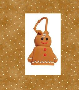 Bath Body Works Frosted Gingerbread Man/Woman PocketBac Hold