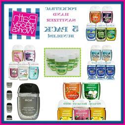 Bath Body Works PocketBac Hand Sanitizer Gel 5 Pack Bundles!