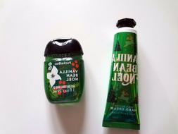 Bath Body Works VANILLA BEAN NOEL Hand Cream + PocketBac Ant