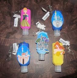 BOGO 50%OFF Disney Park Hand Sanitizer Keychain DLR Castle B
