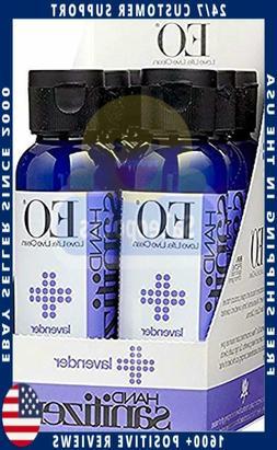 EO Botanical Hand Sanitizer Gel, Lavender, 2 Ounce