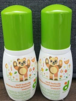 BRAND NEW Two  Babyganics Alcohol-Free Foaming Hand Sanitize