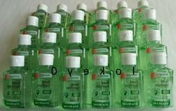 Bulk Lot of 24 Instant Hand Sanitizer Gel In Aloe, Lemon, or