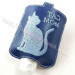 Cat Mom 2 ounce Hand Sanitizer Holder