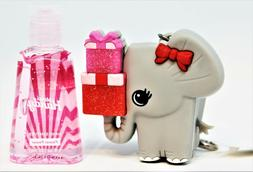 BATH BODY WORKS Cat Wt Glass Pocketbac HOLDER+ Cherry Almond