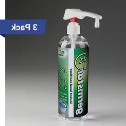Germstar Citrus 16oz Hand Sanitizer Pump Bottles, Kills Noro