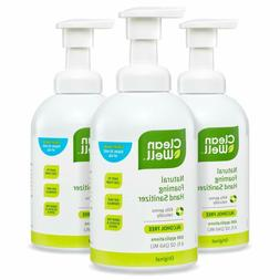 Cleanwell Natural Foaming Hand Sanitizer - Original Scent, 8