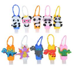 cute silicone hand sanitizer pocketable antibacterial holder