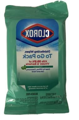 Clorox Disinfecting 9 wet Wipes ,kills cold and flu viruses,