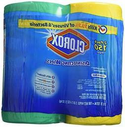 Clorox Disinfecting Wipes, 2x75ct Value Pack
