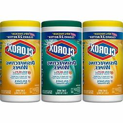 Clorox Disinfecting Wipes Value Pack,Crisp Lemon and Fresh S