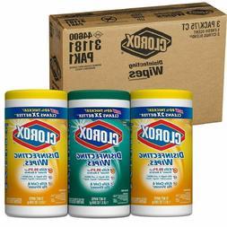 Clorox Disinfecting Wipes Value Pack, Crisp Lemon & Fresh Sc