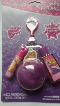 Disney Princess Rapunzel Hand Sanitizer & Lip Balm on a Cute
