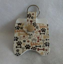 Dog Woofs and Paws Hand Sanitizer Holder Free Shipping