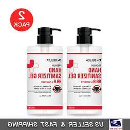 dr bellca premium hand sanitizer gel ethanol