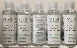 Dr J's Natural Hand Sanitizer Aloe Vera Gel 4 oz Bottle 75%