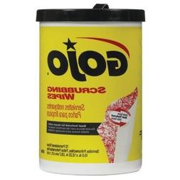 Gojo Dual Textured Scrubbing Wipes Canister 72 Wipes