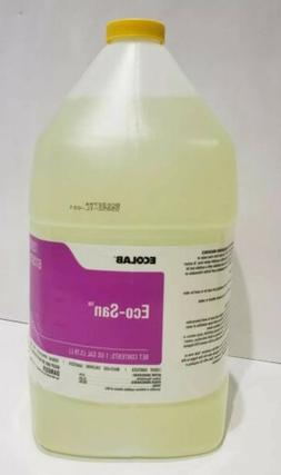 Ecolab Eco-San Liquid Sanitizer 13979 1US Gallon