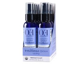 EO Organic Hand Sanitizer Spray - Lavender - Travel-Size, 2