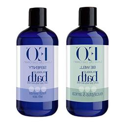 EO Eucalyptus and Arnica Botanical Bubble Bath and EO Botani