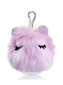 Bath and Body Works Fluffy Unicorn Pocketbac Holder.
