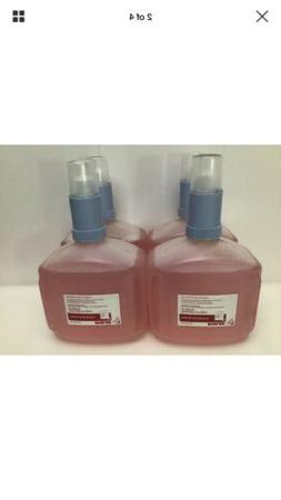 Ecolab Foam Hand Sanitizer Lot 4 bottles 1250ml each 1110469