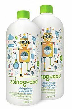 Babyganics Foaming Dish and Bottle Soap Refill Fragrance Fre