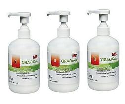 3 Bottles!! Avagard D Hand Sanitizer 16oz Alcohol Gel Pump 3