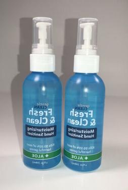 Fresh & Clean Moisturizing Sanitizer Spray for Hands  4oz Bo