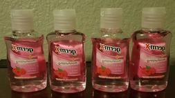 Germ-X Hand Sanitizer 4 Pack- Wild Berry 1.5 FL oz Bottles