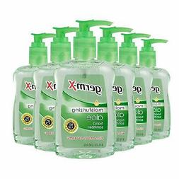Germ-X Hand Sanitizer, Aloe, Pump Bottle, 8 Fluid Ounce