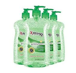 Germ-X Hand Sanitizer, Aloe, Pump Bottle, 30 Fluid Ounce