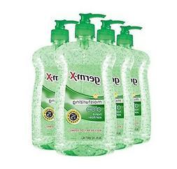 Germ-X Hand Sanitizer, Aloe, Pump Bottle, 30 Fluid Ounce