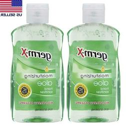 Germ-X Hand Sanitizer Moisturizing Aloe 2-Pack 10oz Gel Kill