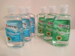 Germ X Moisturizing Hand Sanitation 10oz Bottle 6 Pack  3 Al