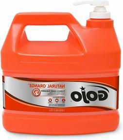 GOJO NATURAL ORANGE Pumice Industrial Hand Cleaner, 1 Gallon
