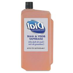 Body & Hair Care, Peach, 1 L Refill Cartridge, 8/Carton - DI