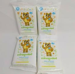 hand and face wipes organic alcohol free