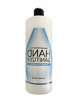 2 bottles hand sanitizer 1000 ml 33