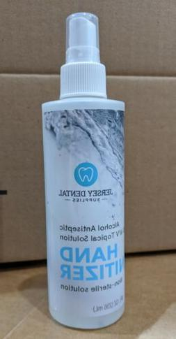 hand sanitizer 8 ounce spray bottle 80