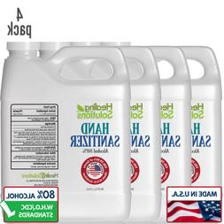 Hand Sanitizer 80% Alcohol  meets CDC Standard – USA Made